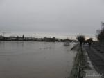 Hochwasser Beueler Rheinufer