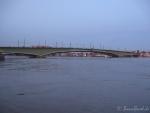 Hochwasser am 10.1.11 - Kennedybrücke