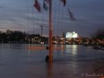Hochwasser am 10.1.11 - Fahnenmaster, Oper