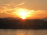 Sonnenaufgang Beuel - Siebengebirge
