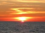 Urlaub - Rerik Sonnenuntergang