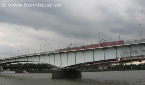 Bonn Beuel Kennedybrücke - Bild vom 06.07.07