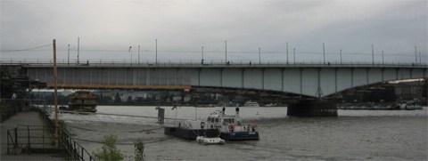 Kennedybrücke Nordseite Beuel