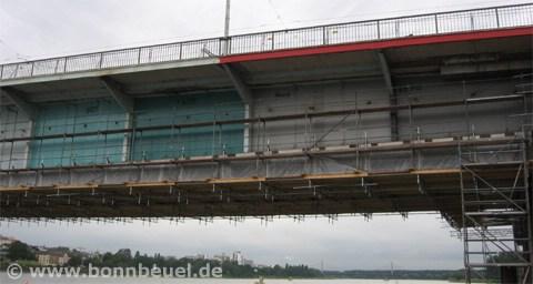 Bild - Anstrich Kennedybrücke