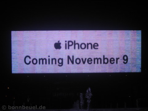 Bild - iPhone T-Mobile Zentrale Bonn Beuel