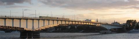 Bild - Kennedybrücke 04.09.07