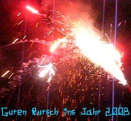 Feuerwerk in Bonn Beuel