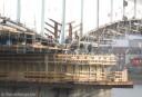 Bonner Kennedybrücke Betonarbeiten 21.02.08