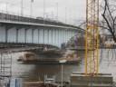 Kennedybrücke 07.12.07 fast Hochwasser