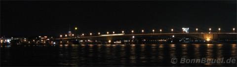 Kennedybrücke bei Nacht 13.03.08