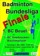 Finale BC Beuel vs. BC Bischmisheim