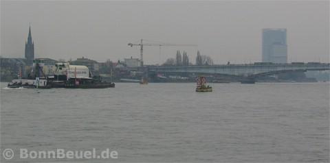 Raumschiff Buran Bonn Beuel Posttower Langer Eugen Kennedybrücke