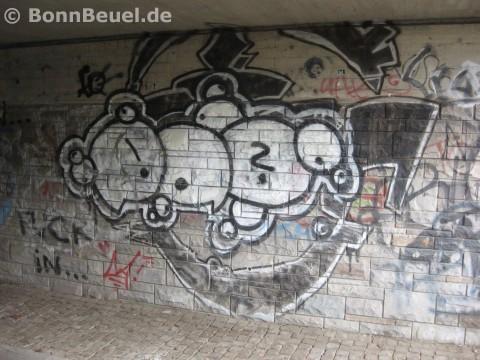 Streetart Bröltalbahnweg