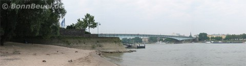 Sandstrand am Rhein Bonn Beuel