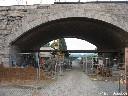 Beuel Kennedybrücke Brückenbogen
