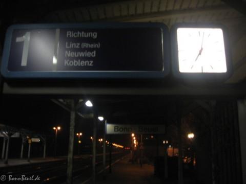 Projekt 52 Zeit - Beuel Bahnhof