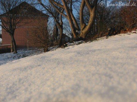 Schnee in Beuel 2009