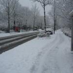 Schnee Bonn Rudolf-Hahn-Straße