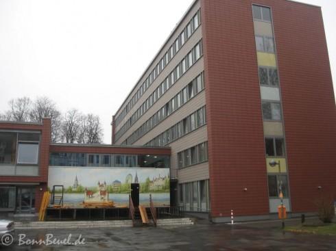 Beueler Rathaus - Vorbereitung für Weiberfastnacht (17.02.09)