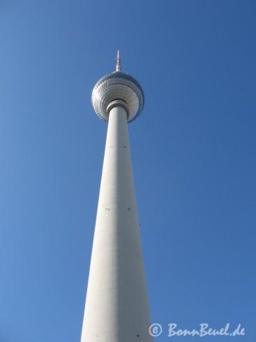Fernsehturm Berlin am 18.03.09