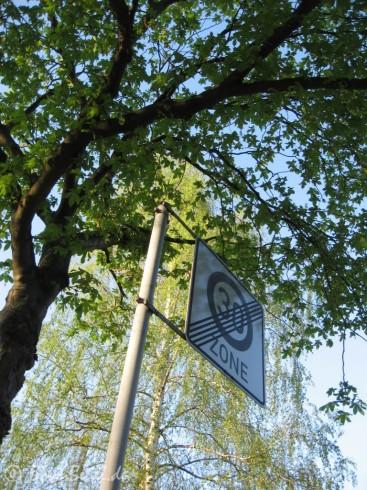 Frühling in Beuel - Zone 30 Ende