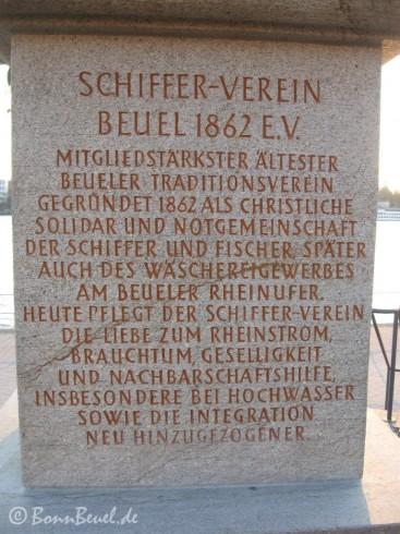 Inschrift der Nepomukstatute