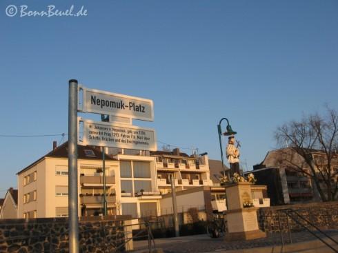 Nepomukplatz Beuel 31.03.09