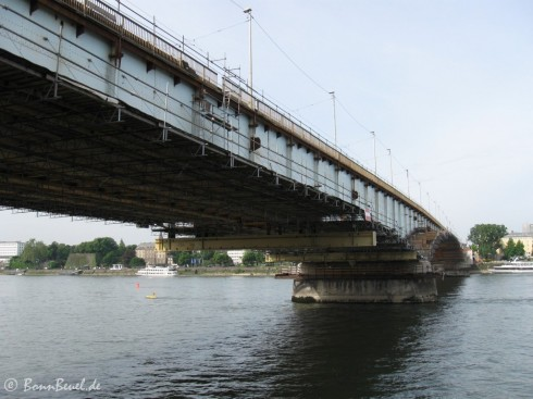 Kennedybrücke Bonn 09.05.09