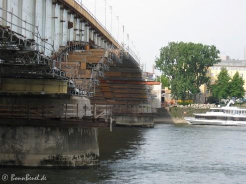 Kennedybrücke Nordseite Bonn