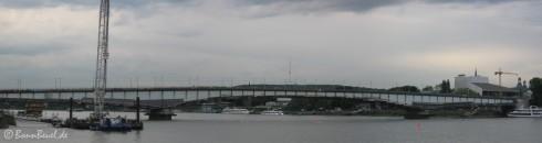 Panorama Kennedybrücke Bonn - 19.05.09