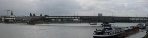 Kennedybrücke in Bonn am 05.06.09