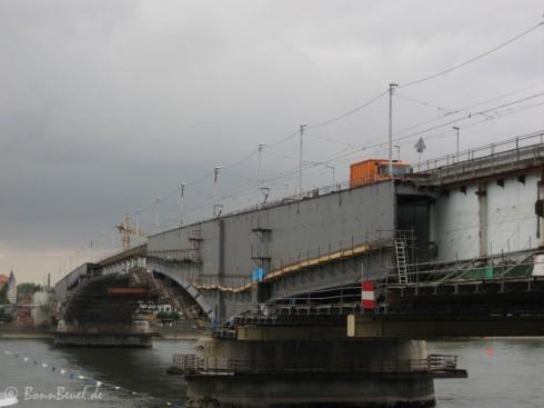Kennedybrücke - Blickrichtung Beuel