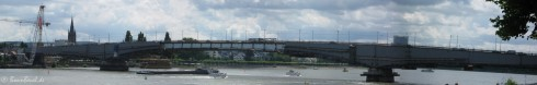 Bonn Kennedybrücke Panorama 16.06.09