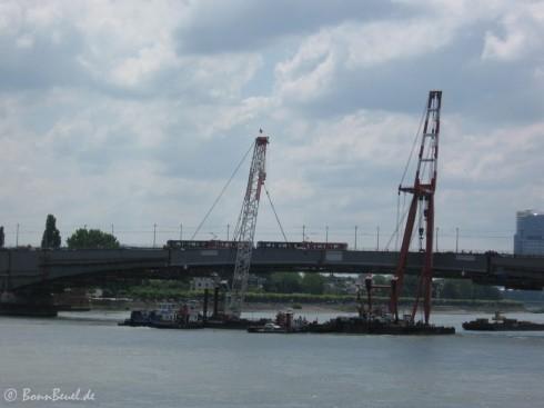 1. Teil der Verbreitungen Nordseite Kennedybrücke komplett 12:25