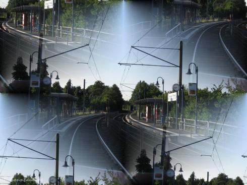 Haltestelle Limperich Nord - 22.06.09