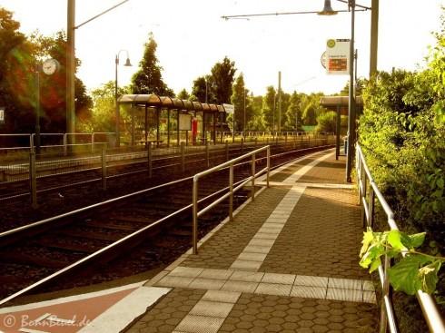 Straßenbahnhalt Limperich Nord - 22.06.09