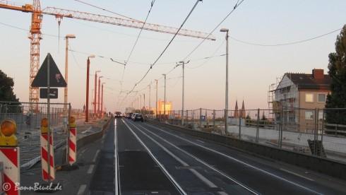 Kennedybrücke: von Beuel nach Bonn am 24.08.09