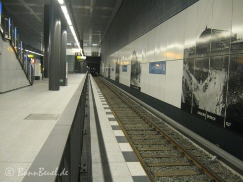 Projekt 52 Thema: Blau - Berlin Hauptbahnhof U-Bahn U55