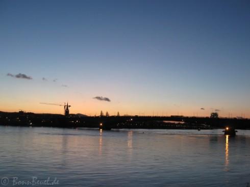 Projekt 52: Horizonte - 25.11.09 (Kennedybrücke, Rhein)