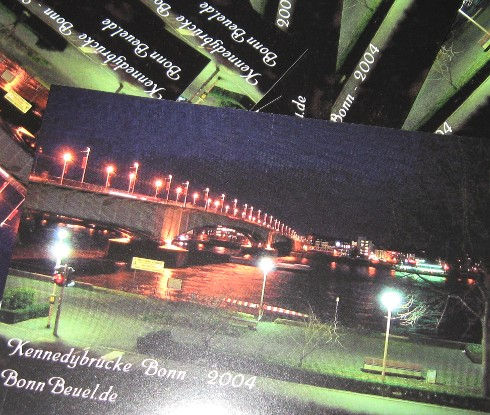 Postkarte BonnBeuel.de - Kennedybrücke