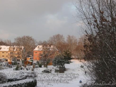 Am Abend ohne Schneefall - Rilkestraße