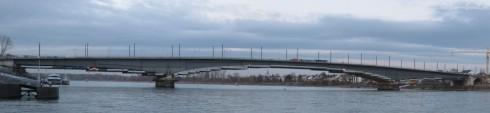 Bonn: Kennedybrücke 18.02.2010