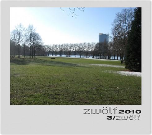 März zwölf2010 - Rhein