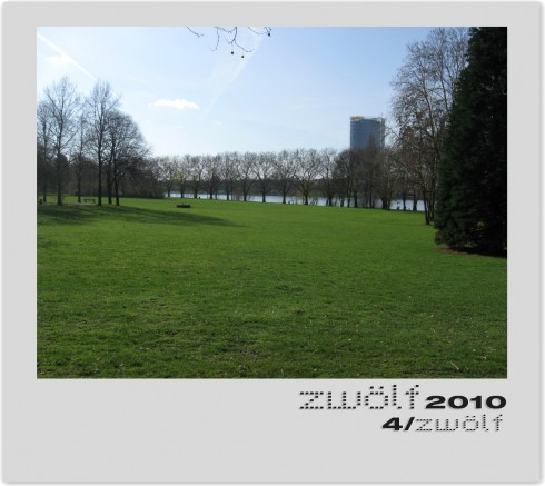 April zwölf2010 - Rhein