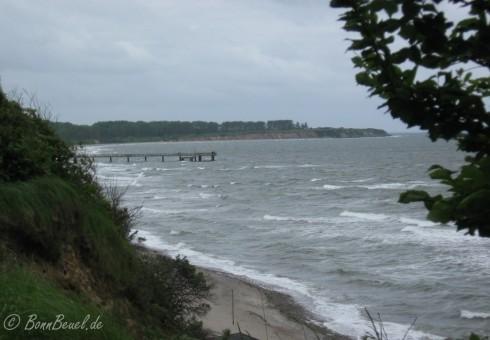 Steilküste und Seebrücke vom Ostseebad Rerik