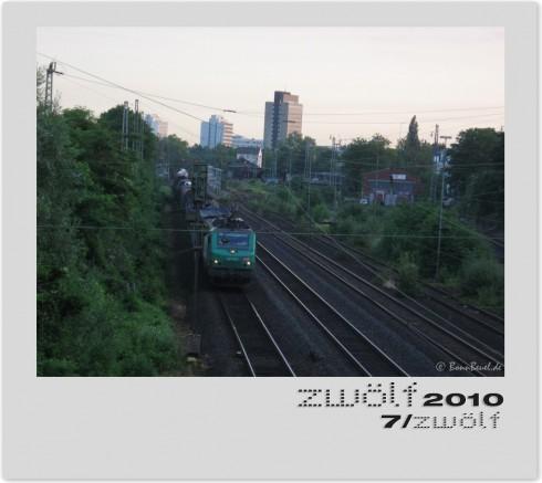 Bahn Zug Juli zwölf2010