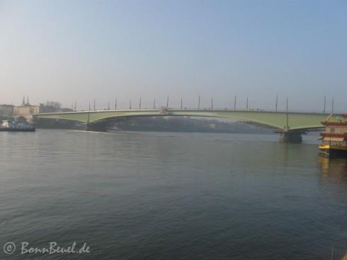 Kennedybrücke am 30.01.2011
