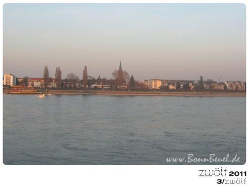 zwölf2011: März - Beueler Rheinufer