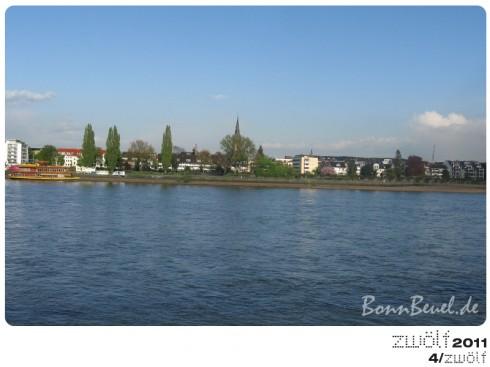zwölf2011: Apirl - Beueler Rheinufer