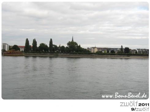 zwölf2011: September - Beueler Rheinufer